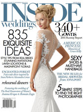 Inside Weddings - Winter 2014 - Bridal Fashion Editorial