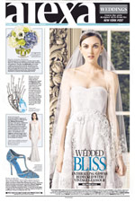 Alexa Weddings/NY Post - October 8, 2014