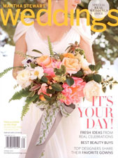 Martha Stewart Weddings - Real Weddings 2013