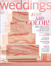 Martha Stewart Weddings - Spring 2013