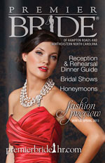 Premier Bride Hampton Roads and Northeastern North Carolina - Winter/Spring 2013